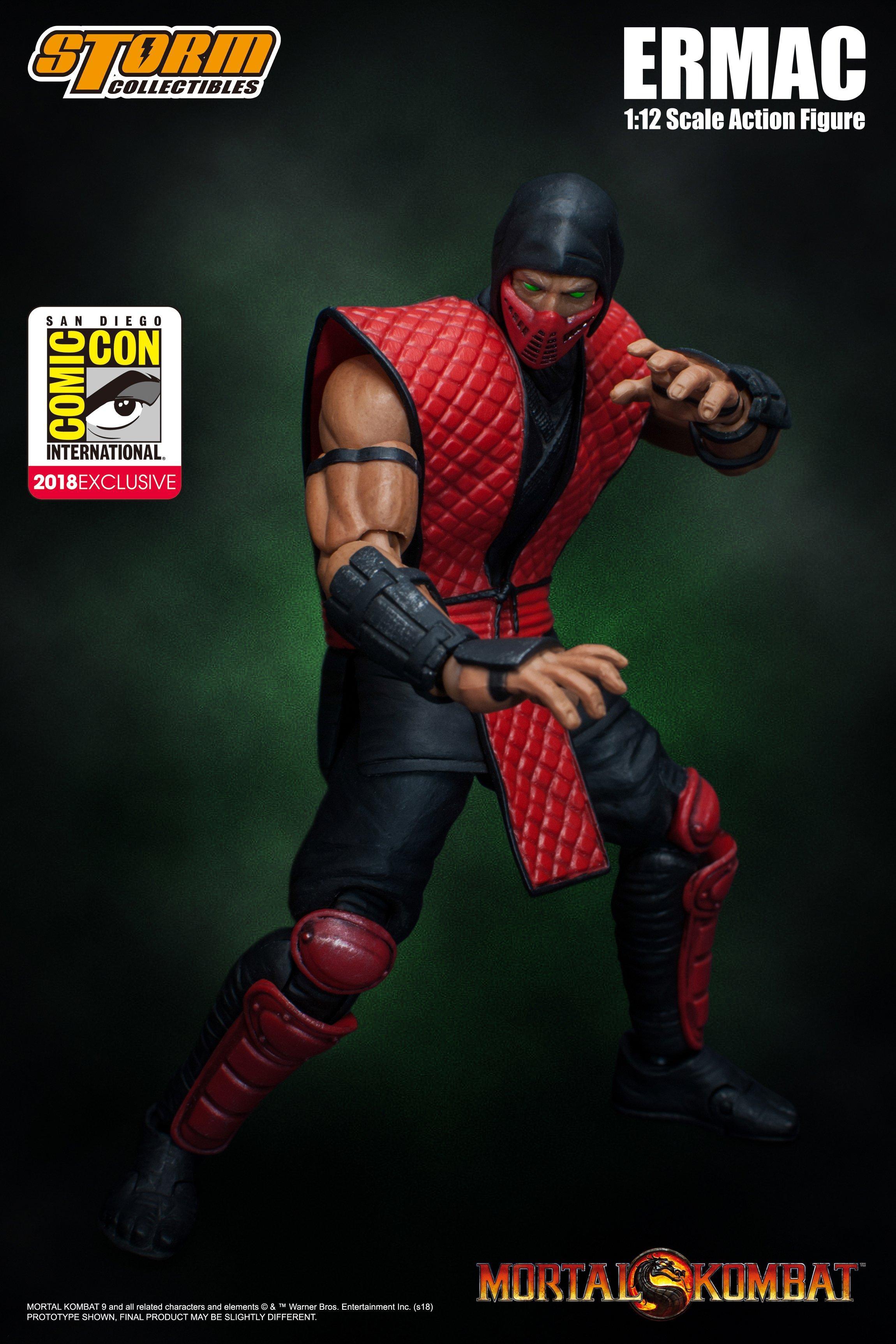 Mortal Kombat Ermac SDCC Edition 1/12 Scale Action Figure | GameStop