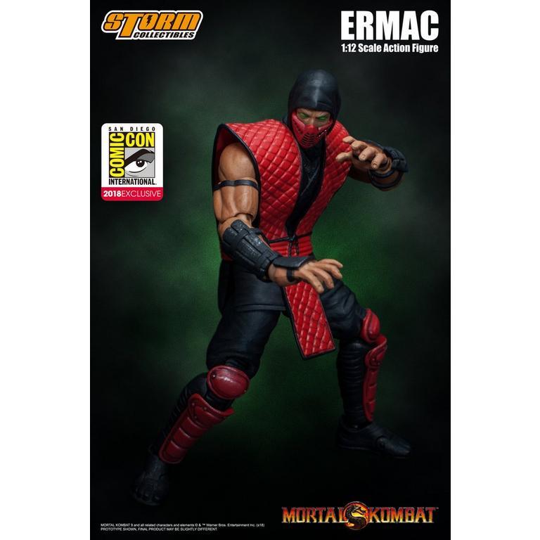 Mortal Kombat Ermac SDCC Edition 1/12 Scale Action Figure