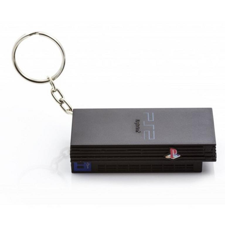 PlayStation 2 Console Keychain