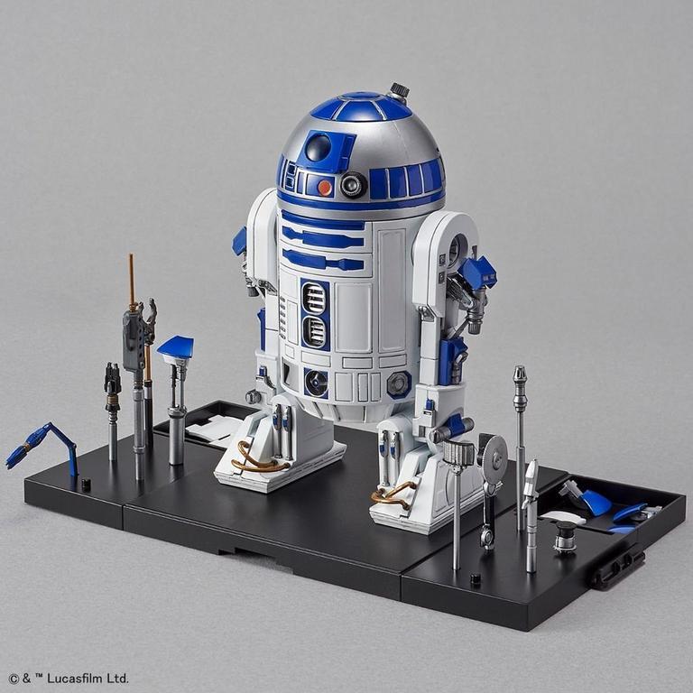 Star Wars R2-D2 1/12 Model Kit