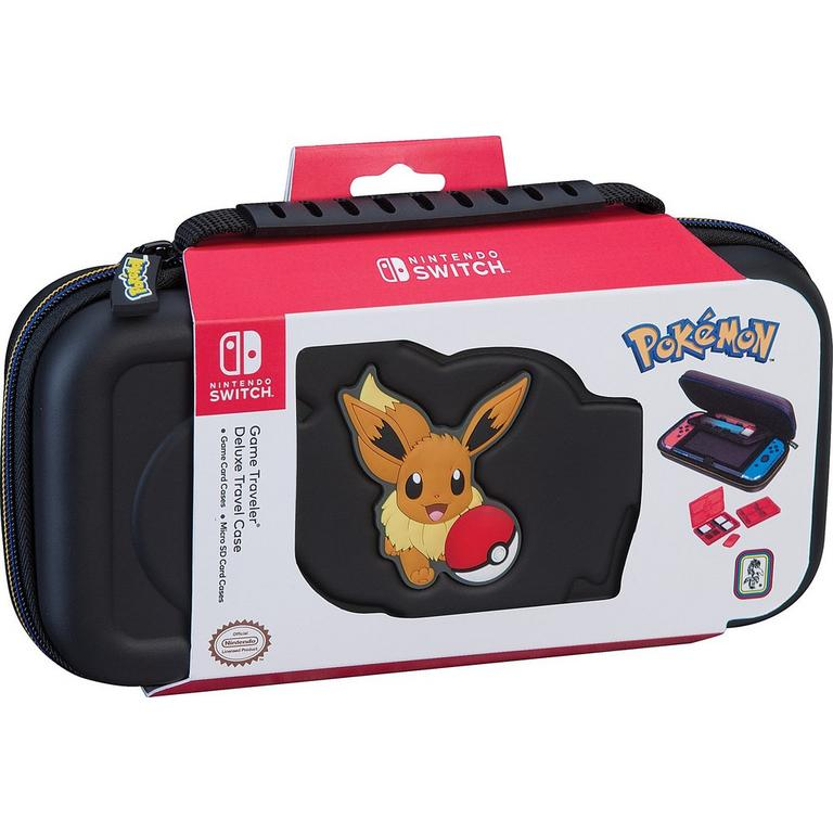 Pokemon: Let's Go! Eevee Game Traveler Deluxe Case for Nintendo Switch