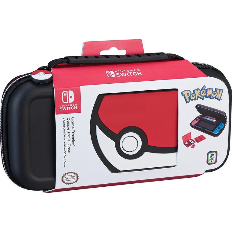 Pokemon Poke Ball Game Traveler Deluxe Case for Nintendo Switch