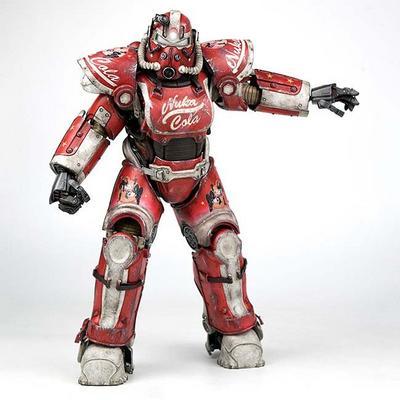 Fallout 4 T-51 Nuka Cola Power Armor Figure