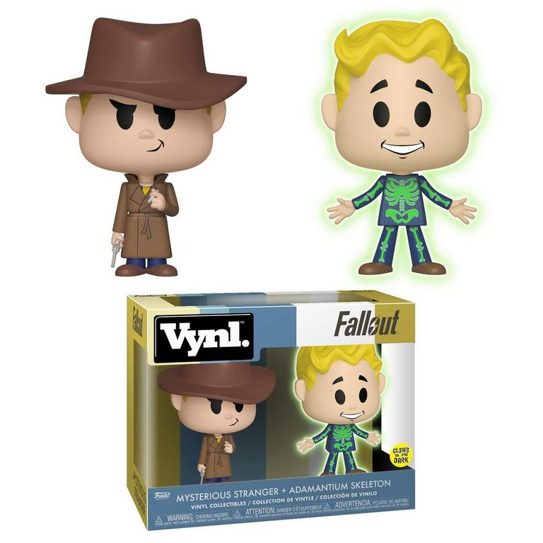 VYNL: Fallout Adamantium Skeleton and Mysterious Stranger 2 Pack