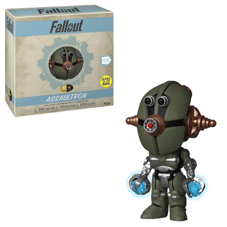 5 Star: Fallout Assaultron Glow in the Dark