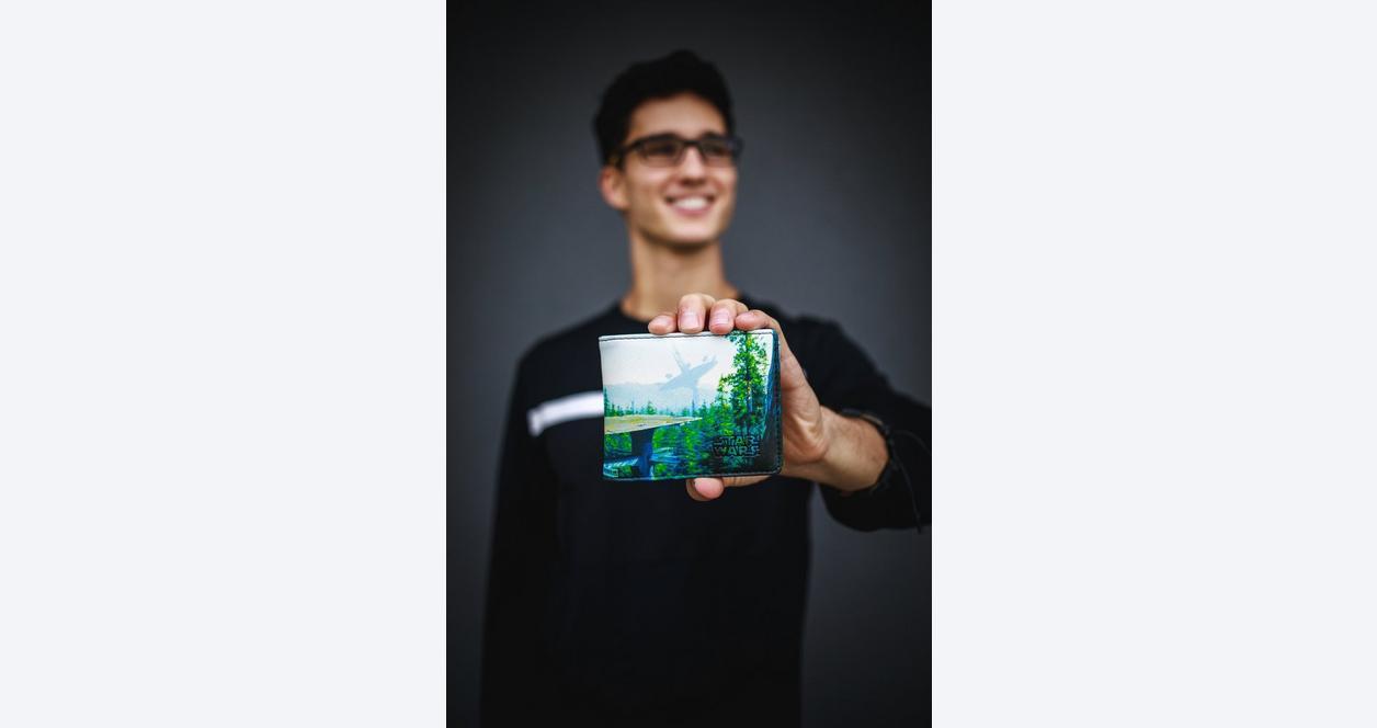 Star Wars Forest Bi-fold Wallet
