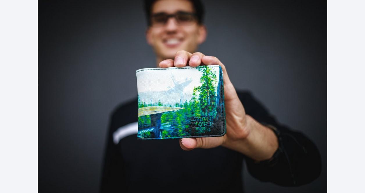 Star Wars Endor Forest Bifold Wallet