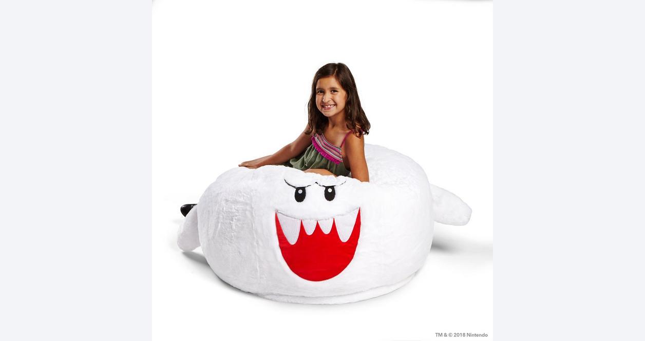 Super Mario Bros. Boo Bean Bag Chair