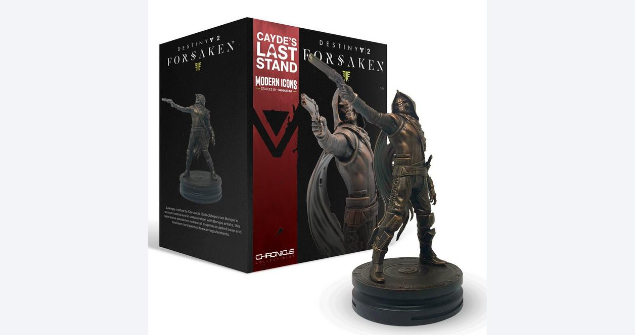 Destiny 2: Forsaken Cayde's Last Stand Modern Icons Statue