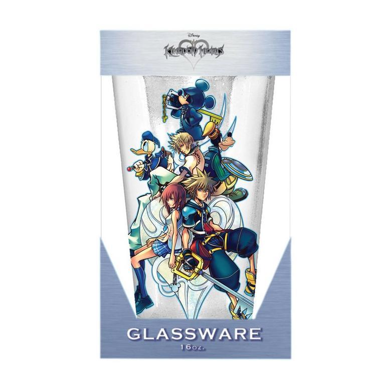 Kingdom Hearts Glass Pint