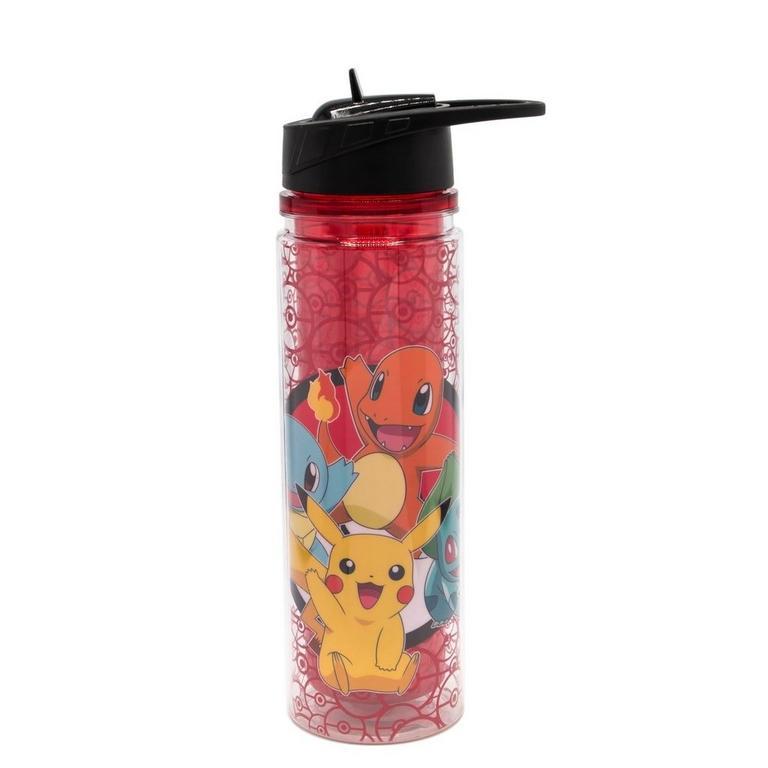 Pokemon Water Bottle Red