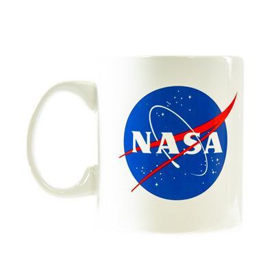 NASA White Logo Mug