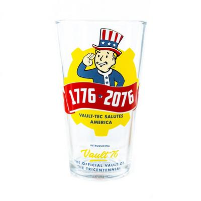 Fallout 76 Pint Glass