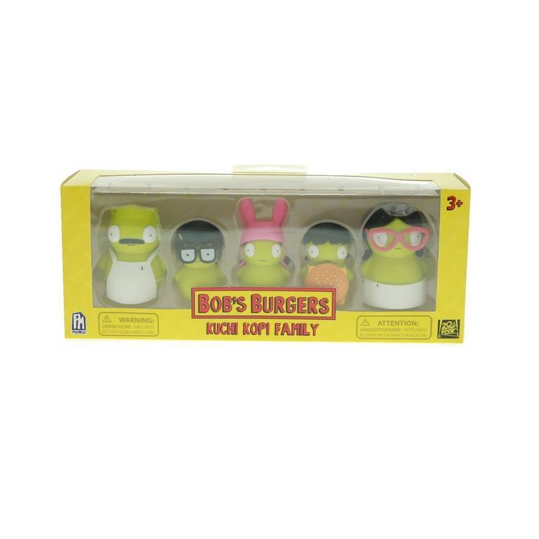 Bob's Burgers Kuchi Kopi Family Figure 5 Pack