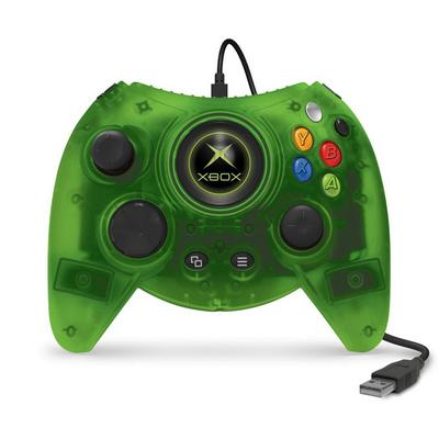 Xbox One DUKE Green Wired Controller Only at GameStop