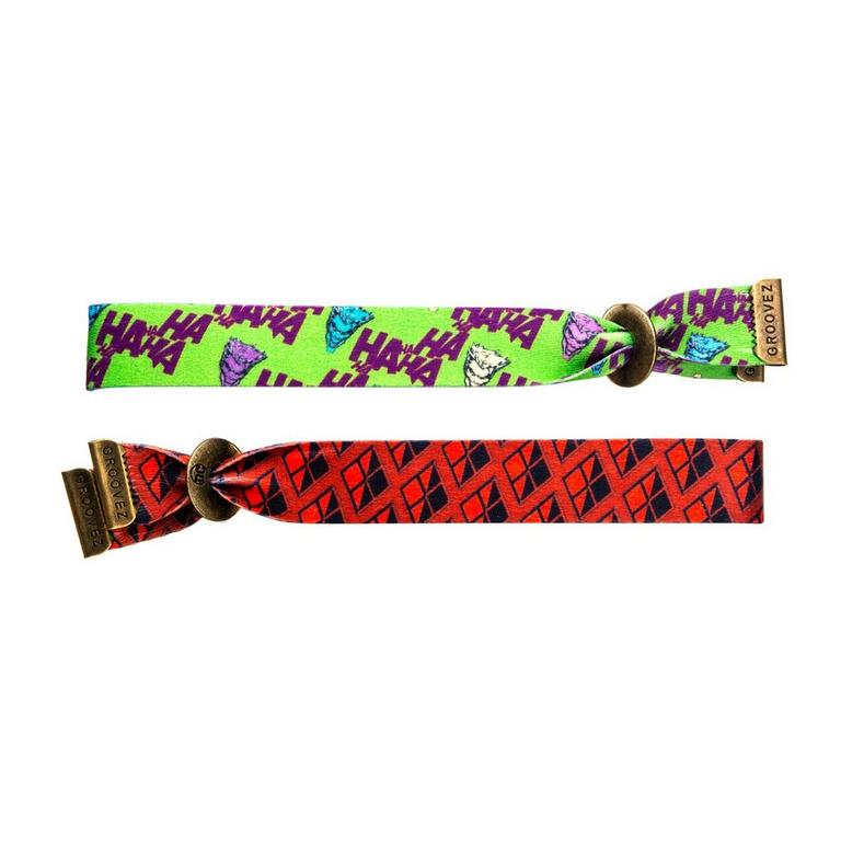 Harley and Joker Bracelet 2 Pack