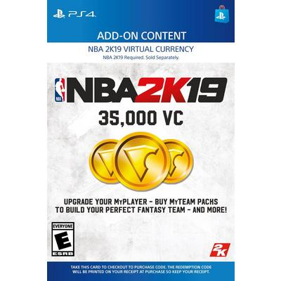 NBA 2K19 35,000 Virtual Currency