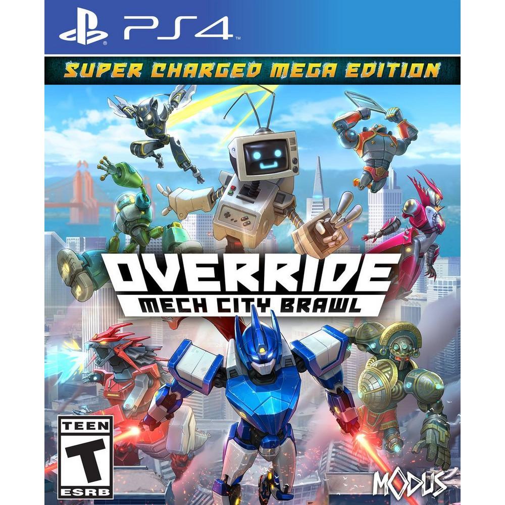 Override Mech City Brawl | PlayStation 4 | GameStop