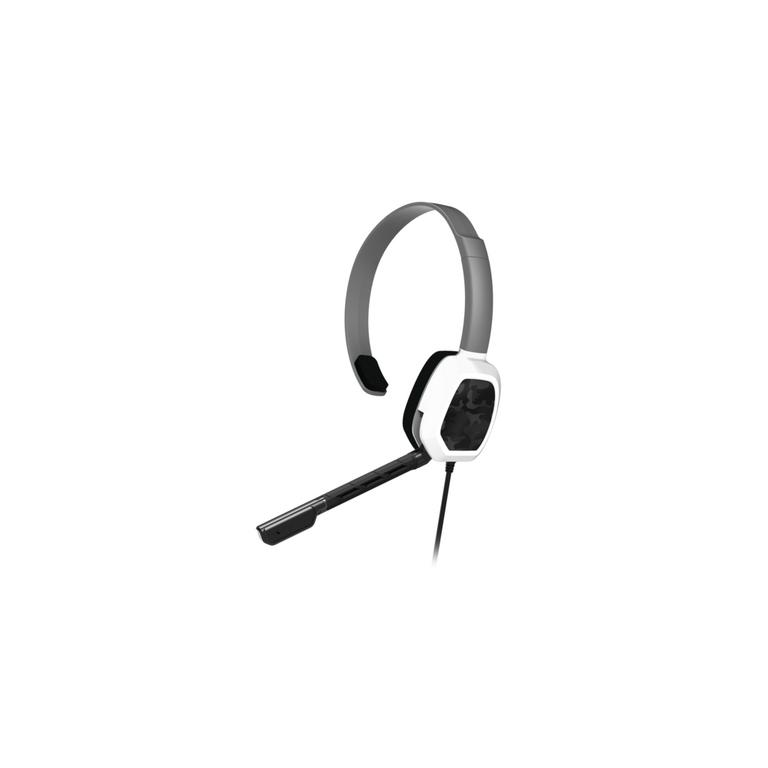 Xbox One LVL 1 White Camo Wired Chat Gaming Headset