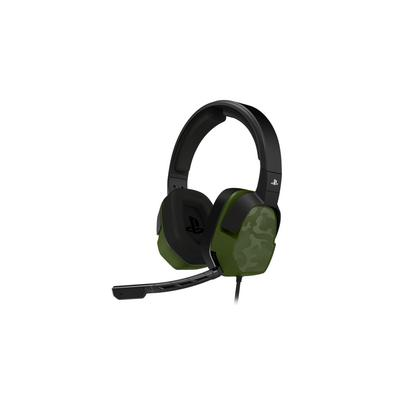 PDP LVL 3 Wired Stereo Headset - Green Camo