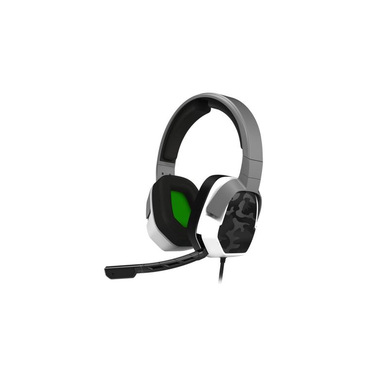 Xbox One LVL 3 White Camo Wired Stereo Gaming Headset