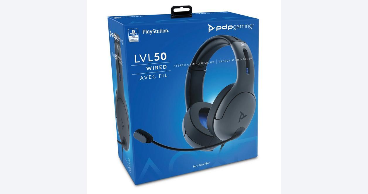 PDP LVL 50 Wired Stereo Headset for PS4
