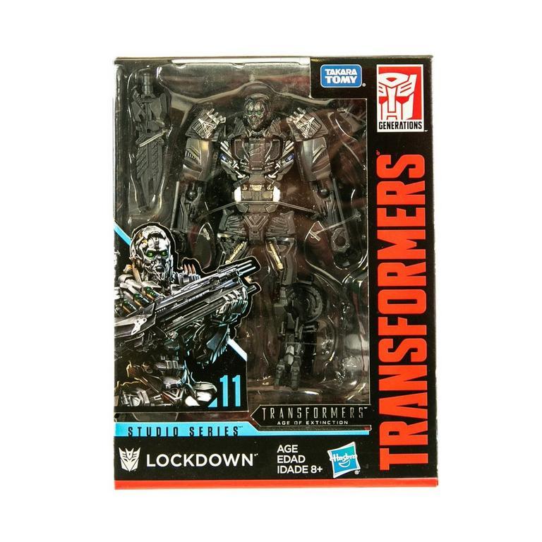 Transformers Dark of the Moon Studio Series Lockdown Action Figure