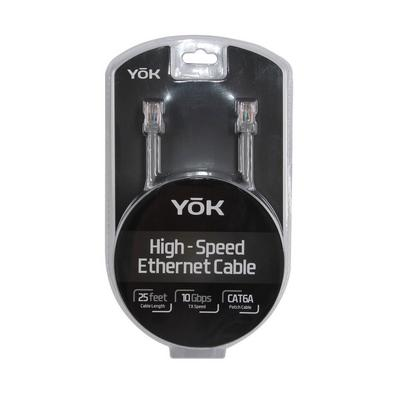 YOK 25' High- Speed-Ethernet Cable 10/100/1000 Base- T