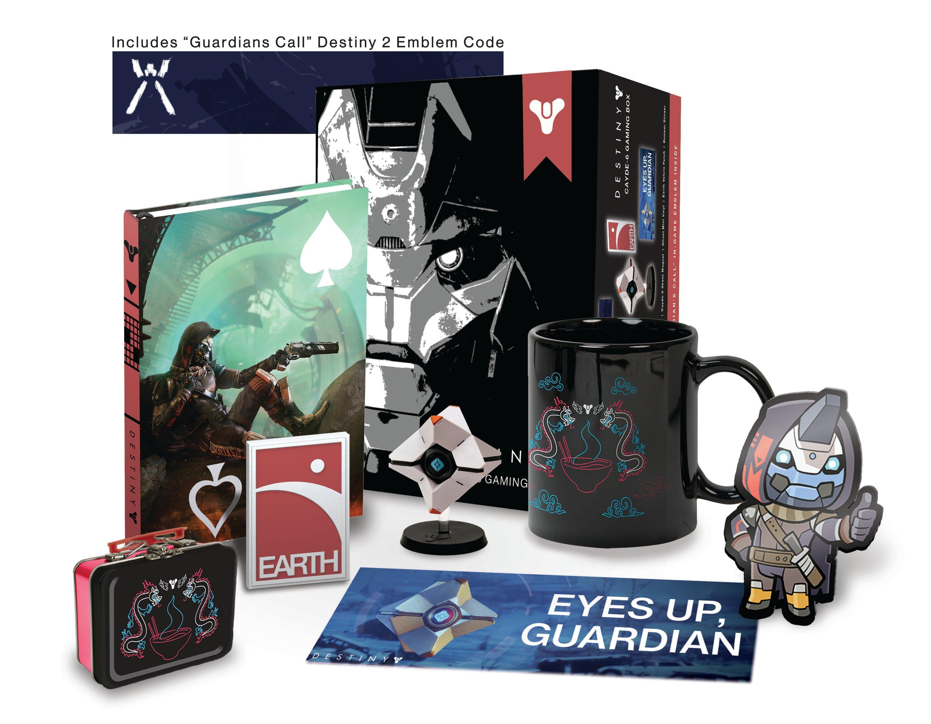 Destiny 2 Cayde-6 Collector's Box with DLC - Only at GameStop   GameStop