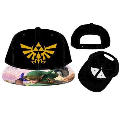 The Legend of Zelda Link Snapback Baseball Cap