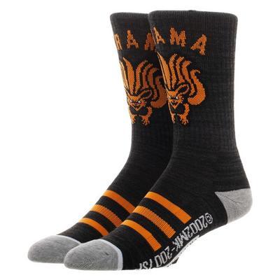 Naruto Kurama Socks