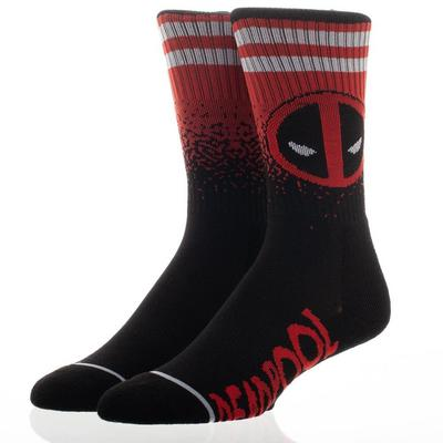 Deadpool Gradient Socks