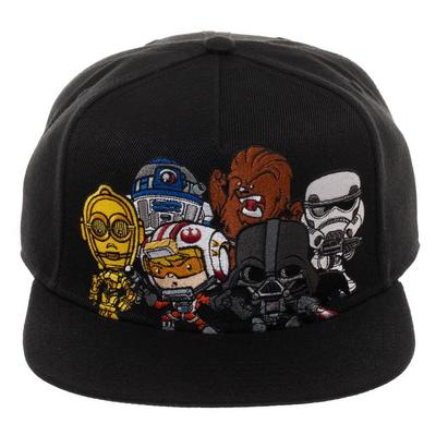 Star Wars Multiple Character Baseball Cap