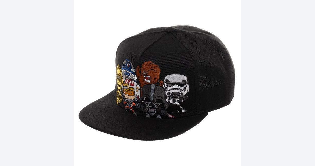 Star Wars Multiple Character Baseball Cap