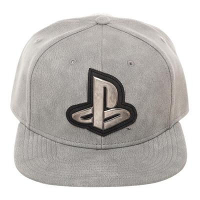 PlayStation Metal Symbol Baseball Cap