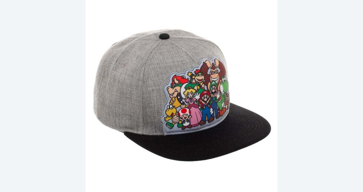 Super Mario Bros. Group Baseball Cap
