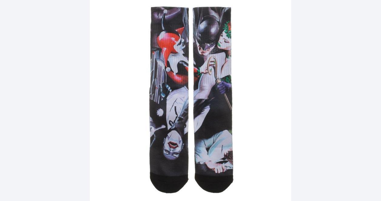 Batman and Villains Socks