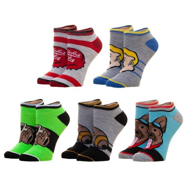 Fallout Emoji Socks 5 Pack