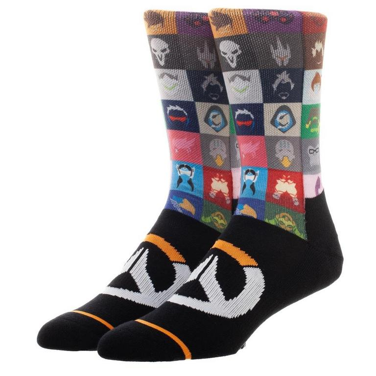 Overwatch Hero Icon Socks
