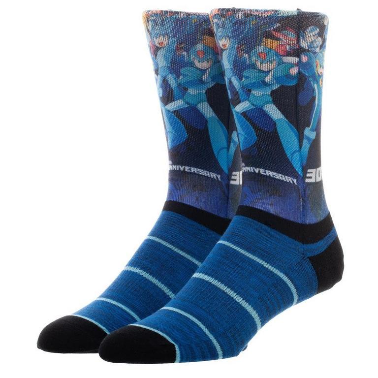 Megaman 30th Anniversary Socks