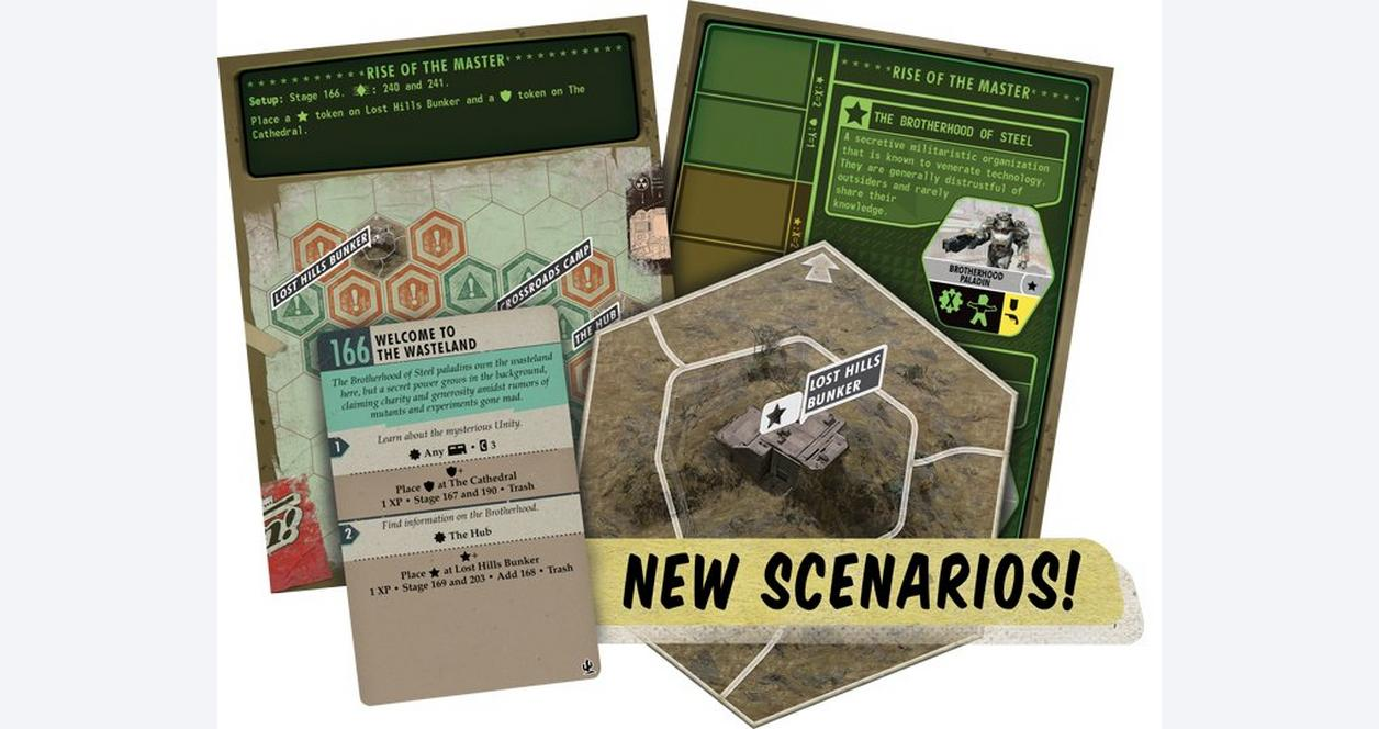 Fallout Board Game Expansion New California