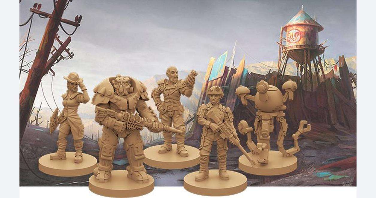 Fallout Board Game Expansion - New California - First at GameStop