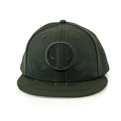 Deadpool Blacked-Out Logo Baseball Cap
