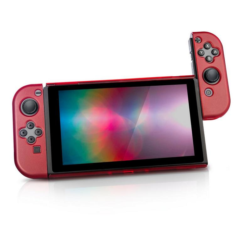 WOLFE Nintendo Switch Thin and Tough Case, Red