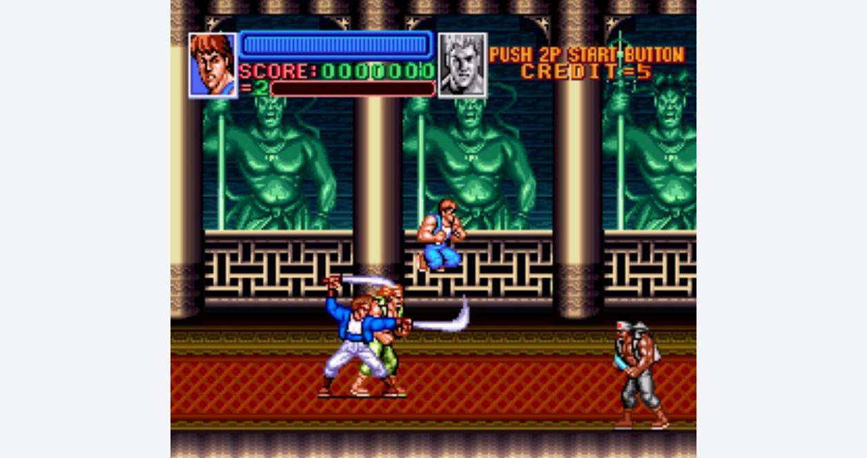 Return of Double Dragon (Compatible with Aftermarket SNES systems only)