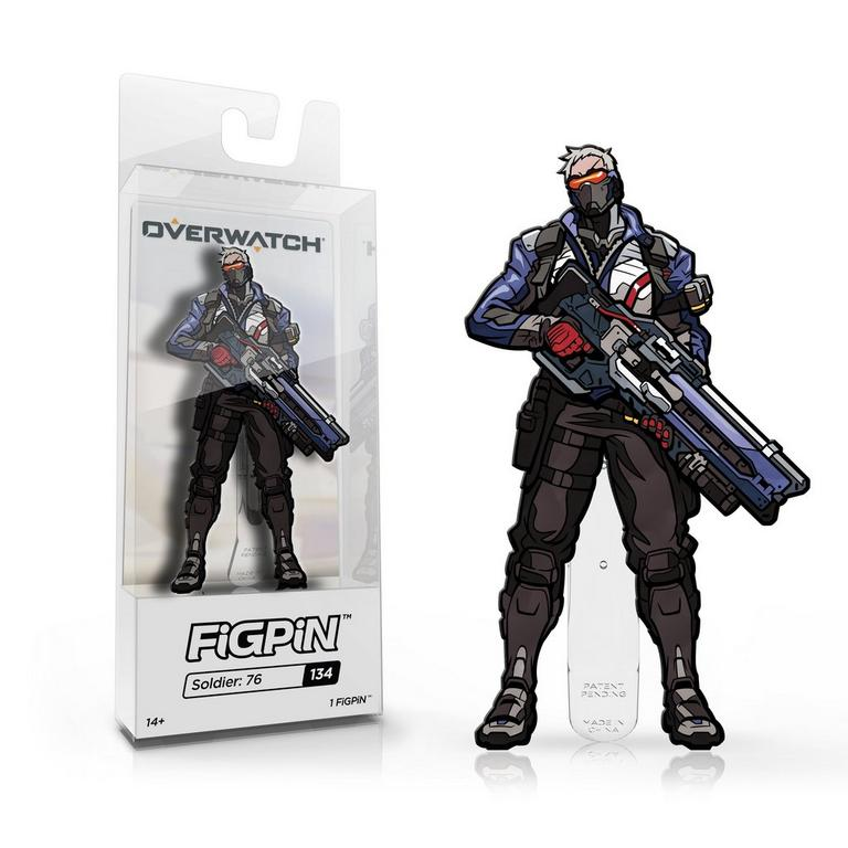 Overwatch Soldier: 76 FiGPiN