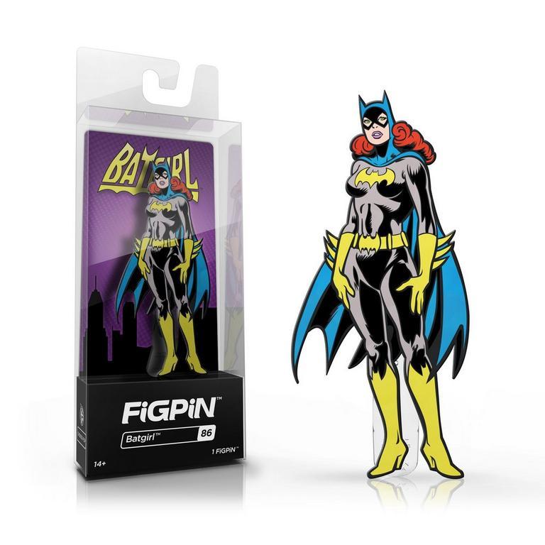 DC Comics Batman Batgirl FiGPiN