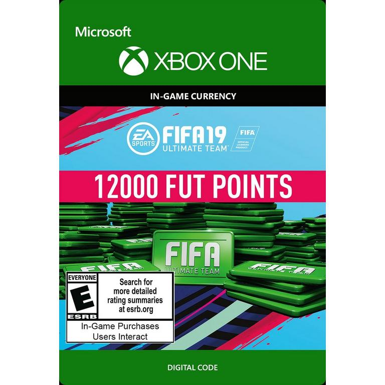 FIFA 19 12000 Ultimate Team Points Digital Card