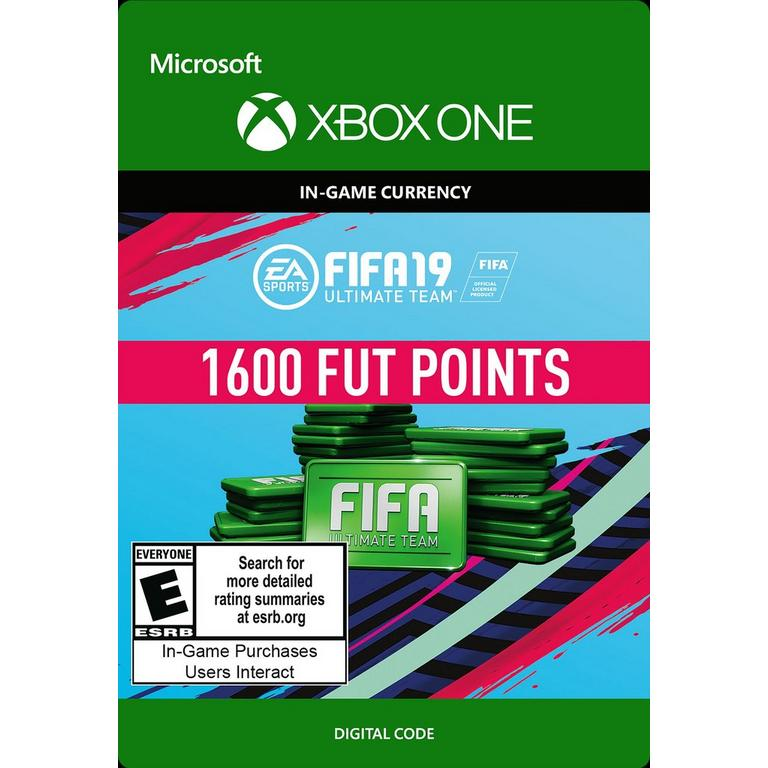 FIFA 19 1600 Ultimate Team Points Digital Card