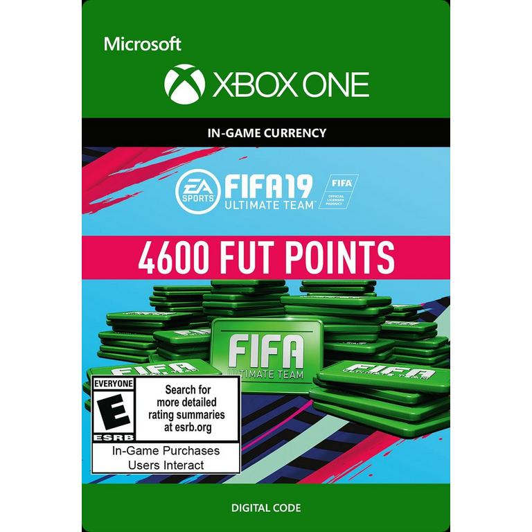 FIFA 19 4600 Ultimate Team Points Digital Card